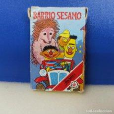 Barajas de cartas: BARAJA CARTAS INFANTIL COMPLETA FOURNIER BARRIO SESAMO. Lote 217716916