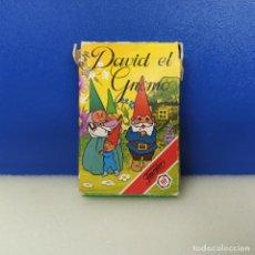 Barajas de cartas: BARAJA CARTAS INFANTIL COMPLETA FOURNIER DAVID EL GNOMO. Lote 217718057
