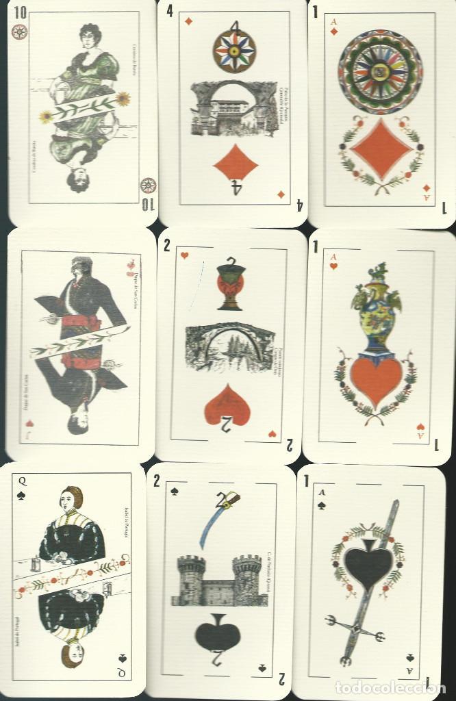 BARAJA ESPAÑOLA CLAVERIA DE ASESCOIN-AÑO 2001 (Juguetes y Juegos - Cartas y Naipes - Baraja Española)