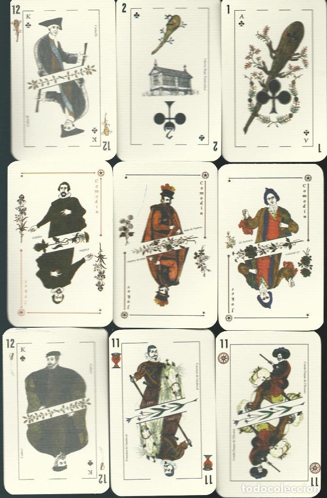 Barajas de cartas: BARAJA ESPAÑOLA CLAVERIA DE ASESCOIN-AÑO 2001 - Foto 2 - 217750967