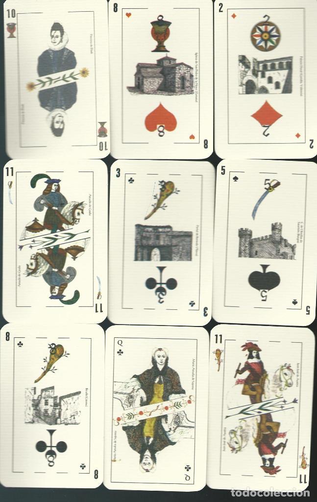Barajas de cartas: BARAJA ESPAÑOLA CLAVERIA DE ASESCOIN-AÑO 2001 - Foto 3 - 217750967