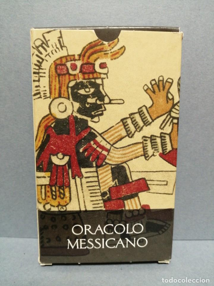 BARAJA CARTAS ORÁCULO MESSICANO EDICIONES OBIT 2002 (Juguetes y Juegos - Cartas y Naipes - Barajas Tarot)