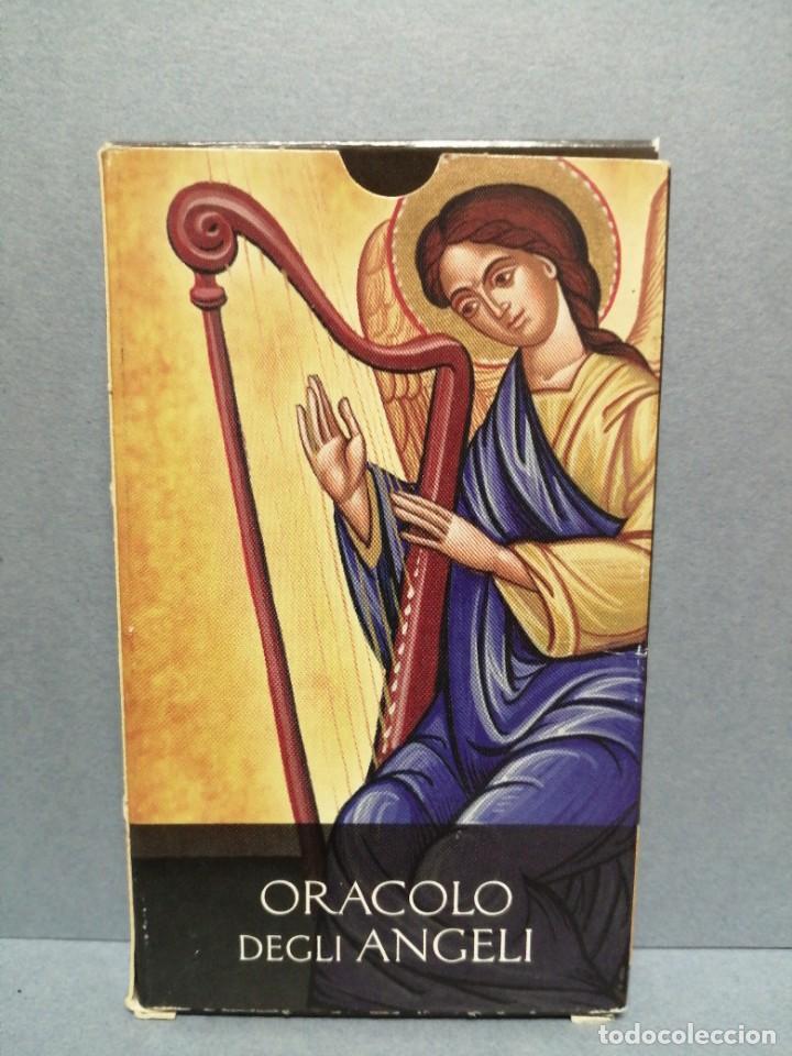 BARAJA CARTAS ORÁCULO DEGLI ANGELI EDICIONES OBIT 2002 (Juguetes y Juegos - Cartas y Naipes - Barajas Tarot)