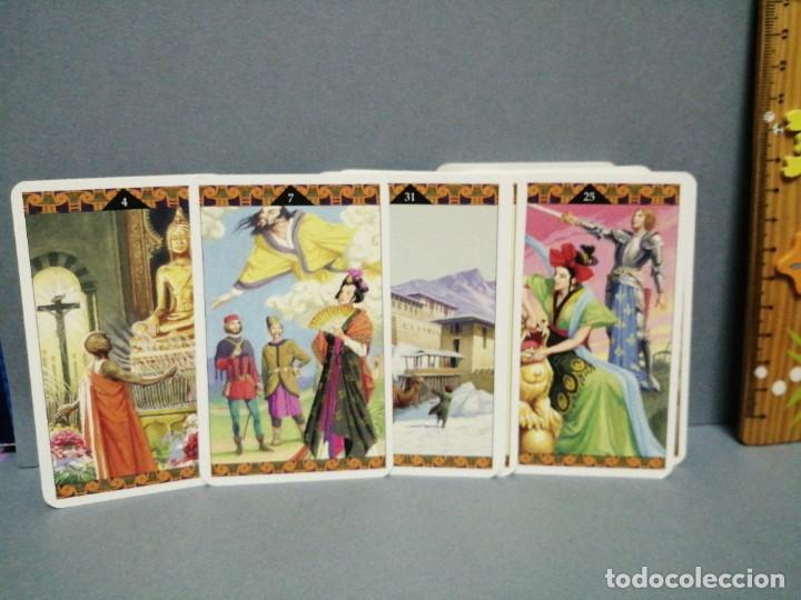 Barajas de cartas: BARAJA CARTAS ORÁCULO CINESE EDICIONES OBIT 2002 - Foto 2 - 217780411