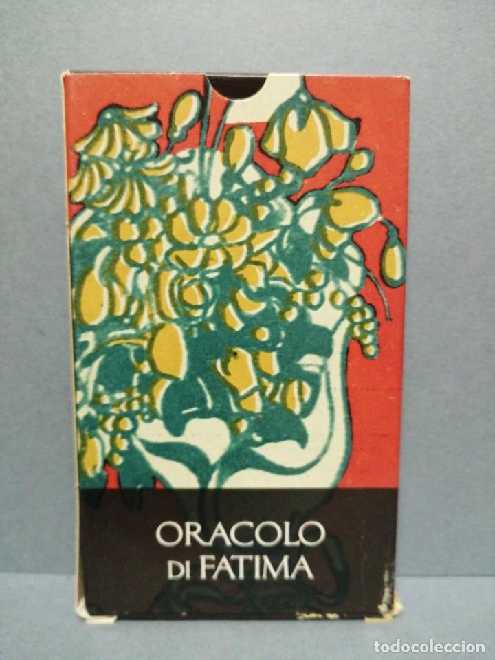 BARAJA CARTAS ORÁCULO DE FÀTIMA EDICIONES OBIT 2002 (Juguetes y Juegos - Cartas y Naipes - Barajas Tarot)