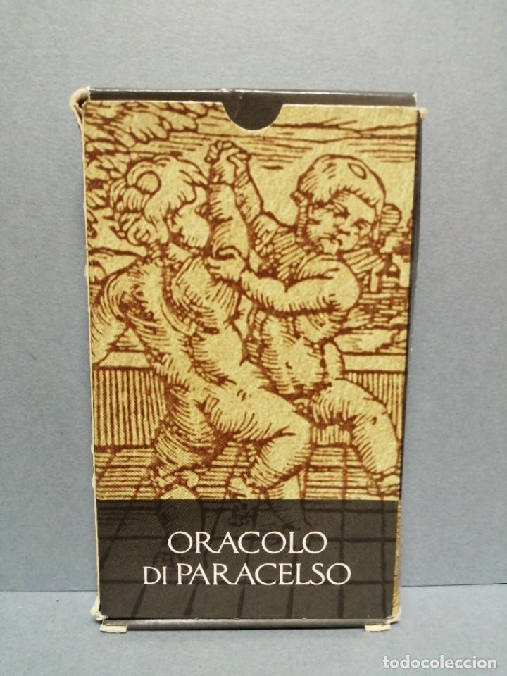BARAJA CARTAS ORÁCULO DI PATACELSO EDICIONES OBIT 2002 (Juguetes y Juegos - Cartas y Naipes - Barajas Tarot)