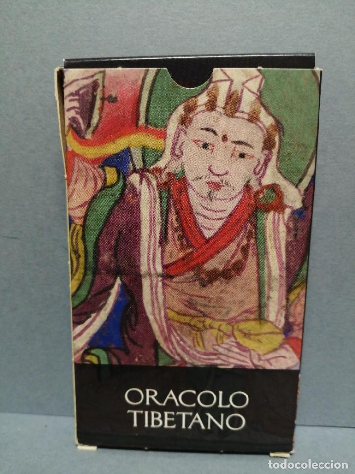 BARAJA CARTAS ORÁCULO TIBETANO EDICIONES OBIT 2002 (Juguetes y Juegos - Cartas y Naipes - Barajas Tarot)