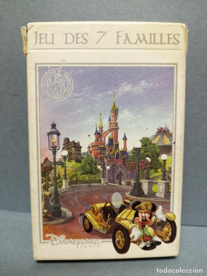 BARAJA CARTAS 7 FAMILIAS DISNEYLAND PARIS (Juguetes y Juegos - Cartas y Naipes - Otras Barajas)