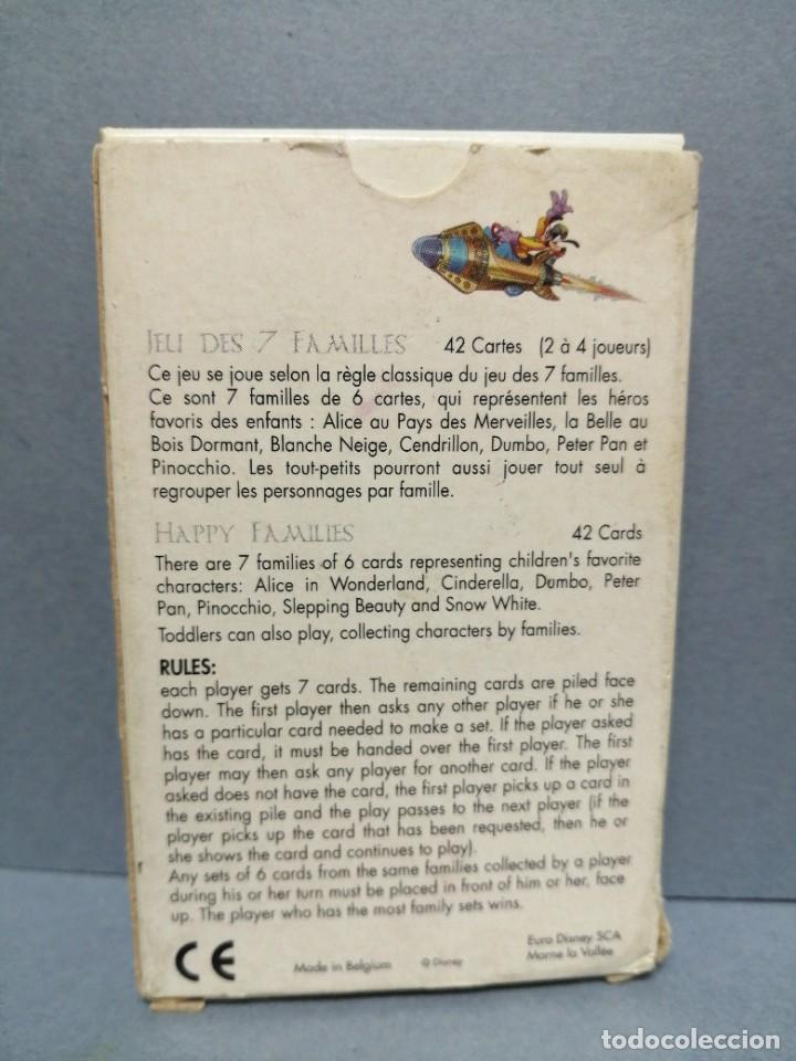 Barajas de cartas: BARAJA CARTAS 7 FAMILIAS DISNEYLAND PARIS - Foto 2 - 217783483