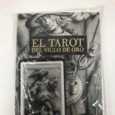 Barajas de cartas: TAROT SIGLO DE ORO ILUSTRADOR JAVIER SERRANO IDEA M. PACHECO Y V. BRAOJOS 22 NAIPES Y LIBRO. EDICIÓN. Lote 217903173