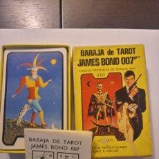 Barajas de cartas: BARAJA TAROT COMPLETA JAMES BOND 007 AÑO 1973 DIBUJOS FERGUSS HALL. Lote 217990832