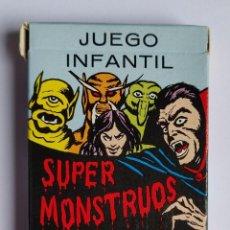 Jeux de cartes: BARAJA INFANTIL SUPER MONSTRUOS. Lote 218011265