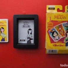 Jeux de cartes: JUEGO INFANTIL DE CARTAS O NAIPES:(HERACLIO FOURNIER) MULAN. Lote 218078015