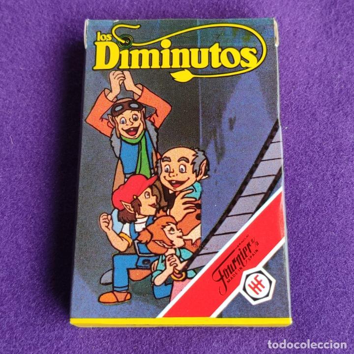 BARAJA INFANTIL FOURNIER. LOS DIMINUTOS. 33 CARTAS. NUEVA SIN USAR. 1983. (Juguetes y Juegos - Cartas y Naipes - Barajas Infantiles)