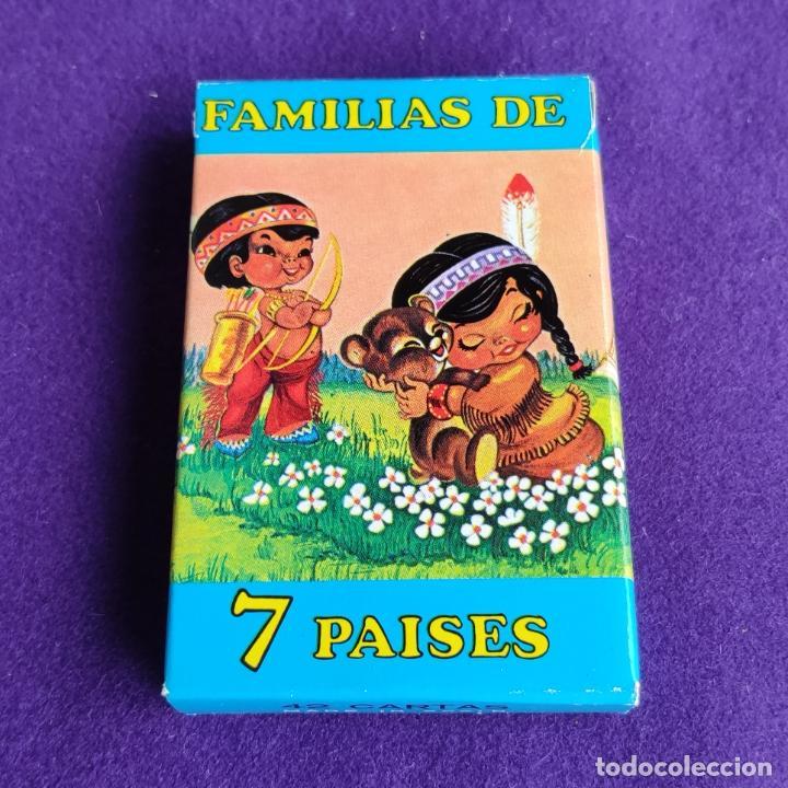 BARAJA INFANTIL FOURNIER. FAMILIAS 7 PAISES. 1ªEDICION. 42 CARTAS. NUEVA SIN USAR. 1964. (Juguetes y Juegos - Cartas y Naipes - Barajas Infantiles)
