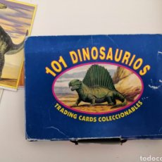 Baralhos de cartas: 101 DINOSAURIOS COMPLETA. Lote 218155600