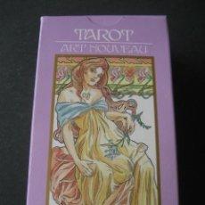 Barajas de cartas: TAROT ART NOUVEAU. Lote 218199757