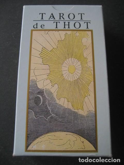 TAROT DE THOT (Juguetes y Juegos - Cartas y Naipes - Barajas Tarot)