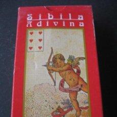 Barajas de cartas: TAROT SIBILA ADIVINA. Lote 218201280