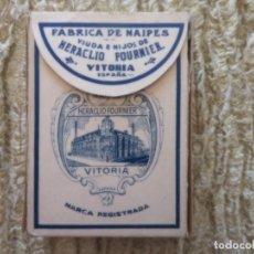 Barajas de cartas: NAIPES POKER HERACLIO FOURNIER. Lote 218368821