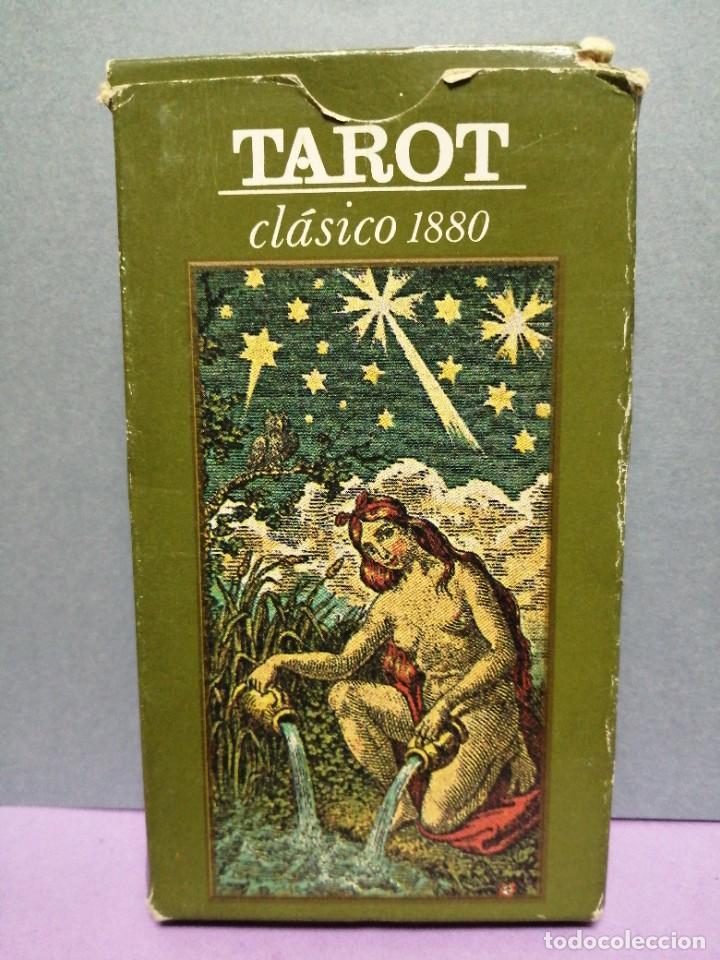 BARAJA DE CARTAS TAROT CLÁSICO 1880 (Juguetes y Juegos - Cartas y Naipes - Barajas Tarot)