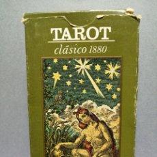 Barajas de cartas: BARAJA DE CARTAS TAROT CLÁSICO 1880. Lote 218450740