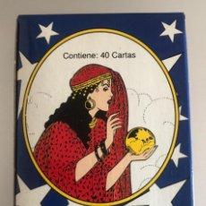 Barajas de cartas: MEX 213 BARAJA GITANA EL PERICO MÉXICO NAIPES TAROT ADIVINACIÓN NUEVA. Lote 261546205