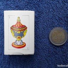 Barajas de cartas: NAIPES EN MINIATURA. BARAJA ESPAÑOLA. NUEVA Y COMPLETA. Lote 218524141