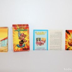 Barajas de cartas: BARAJA DE CARTAS COMPLETA ASTERIX EL JUEGO DE LA CIZAÑA - EDICIONES RECREATIVAS - AÑO 72. Lote 218731407