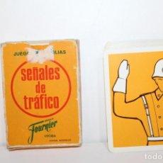 Jeux de cartes: BARAJA DE CARTAS COMPLETA - EL JUEGO DE FAMILIAS SEÑALES DE TRAFICO - FOURNIER. Lote 218732970