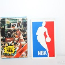Barajas de cartas: BARAJA DE CARTAS COMPLETA - ESTRELLAS NBA - FOURNIER AÑO 88. Lote 218734053