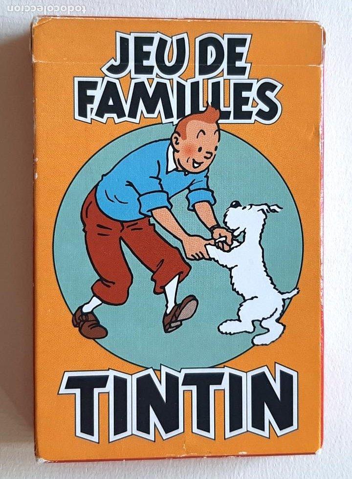 TINTIN - CARTAS JUEGO DE FAMILIAS - NUEVO (Juguetes y Juegos - Cartas y Naipes - Otras Barajas)