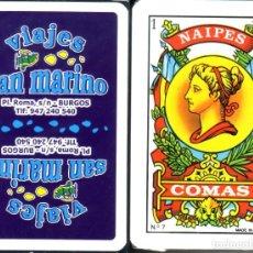 Barajas de cartas: VIAJES SAN MARINO - BURGOS. Lote 218803291