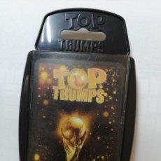 Baralhos de cartas: BARAJA DE CARTAS TOP TRUMPS SPECIALS ( FIFA FUTBOL TOTAL ) CON 33 CARTAS. Lote 218827221