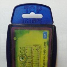 Barajas de cartas: BARAJA DE CARTAS TOP TRUMPS SPECIALS ( THE OUTRAGEOUS CARD GAME GROSS ) CON 42 CARTAS. Lote 218835743