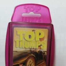 Barajas de cartas: BARAJA DE CARTAS TOP TRUMPS ( SPORTS CARS ) CON 33 CARTAS. Lote 218836091