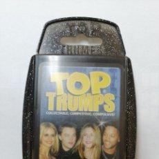 Barajas de cartas: BARAJA DE CARTAS TOP TRUMPS ( MOVIE STARS ) CON 33 CARTAS. Lote 218836655