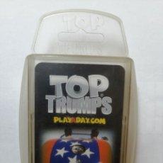 Barajas de cartas: BARAJA DE CARTAS TOP TRUMPS ( GUMBALLS ) CON 33 CARTAS. Lote 218836980