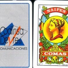 Barajas de cartas: TELECOMUNICACIONES CODINSA. Lote 218864247