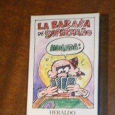 Barajas de cartas: BARAJA ESPAÑOLA SUPERMAÑO.NUEVA SIN JUGAR,40 CARTAS.. Lote 218893895
