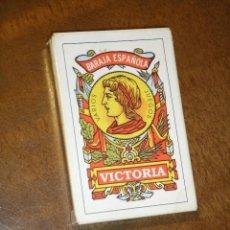 Barajas de cartas: BARAJA ESPAÑOLA VICTORIA,40 CARTAS.NUEVA. Lote 218894046