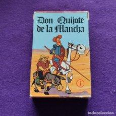 Jeux de cartes: BARAJA INFANTIL FOURNIER. DON QUIJOTE DE LA MANCHA. 32 CARTAS. 1979. SIN USAR.. Lote 218907875