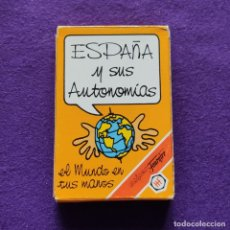 Barajas de cartas: BARAJA INFANTIL FOURNIER. ESPAÑA Y SUS AUTONOMIAS. 33 CARTAS. 1994. SIN USAR.. Lote 218910736