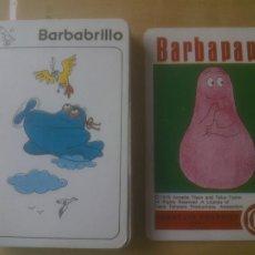Barajas de cartas: BARAJA INFANTIL BARBAPAPA - FOURNIER; COMPLETA, SIN CAJA. Lote 219136067