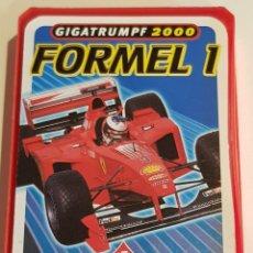 Barajas de cartas: BARAJA / FORMEL 1 - GIGATRUMPF 2000 / BERLINER SPIELKARTEN / COMPLETA EN CAJA SIN TAPA. 32 NAIPES.. Lote 219175246