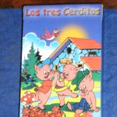 Barajas de cartas: BARAJA INFANTIL LOS TRES CERDITOS DE VARITEMAS. Lote 219185771