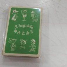 Jeux de cartes: 1 CARTA DE BARAJA ESCOGER ENTRE VARIAS PERDIR LA FALT RECREATICAS O FOURNIER EL JUEGO DE LAS RAZAS. Lote 219194666