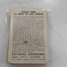 Jeux de cartes: 1 CARTA DE BARAJA ESCOGER ENTRE VARIAS P EDICCIONES RECREATICAS O FOURNIER EL JUEGO DE LAS PAREJAS. Lote 219195068