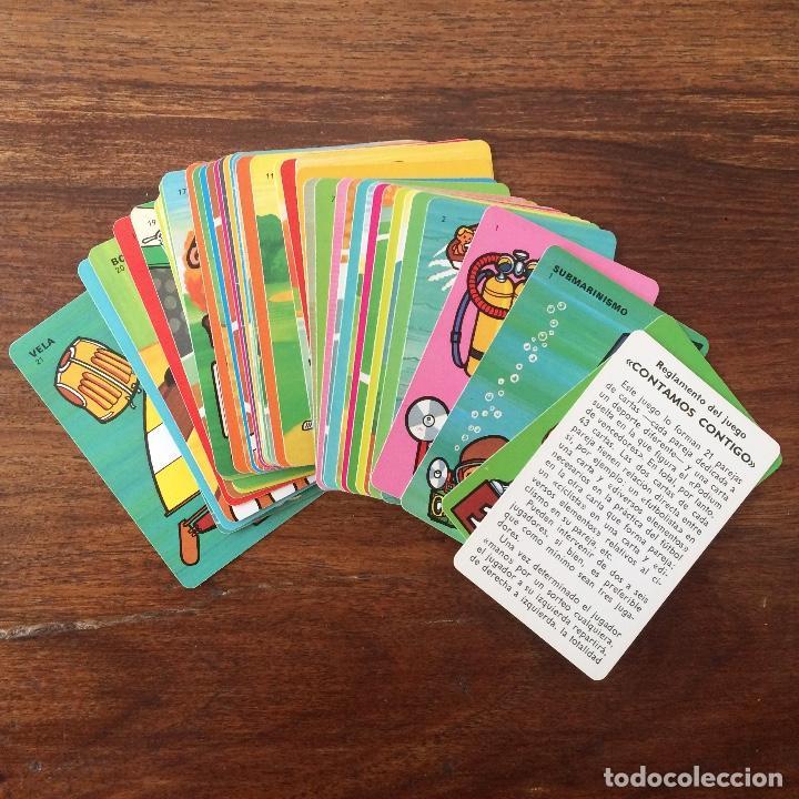 Barajas de cartas: BARAJA INFANTIL FOURNIER - CONTAMOS CONTIGO - DEPORTES - 44 CARTAS -1974 - Foto 4 - 219222980