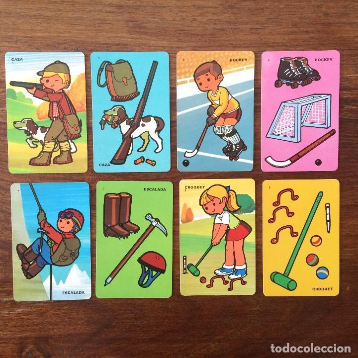 Barajas de cartas: BARAJA INFANTIL FOURNIER - CONTAMOS CONTIGO - DEPORTES - 44 CARTAS -1974 - Foto 6 - 219222980